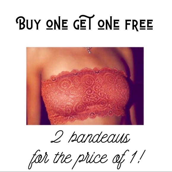 Free People Other - 🥳 FP SALE! Buy 2 for the price of 1 Lace Bandeau